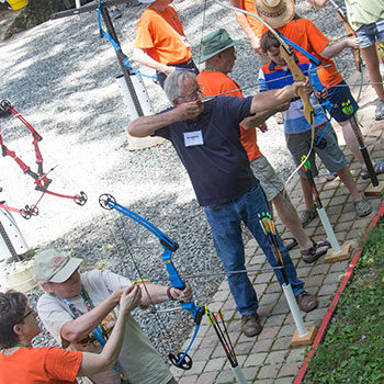 Summer archery at IWLA-R